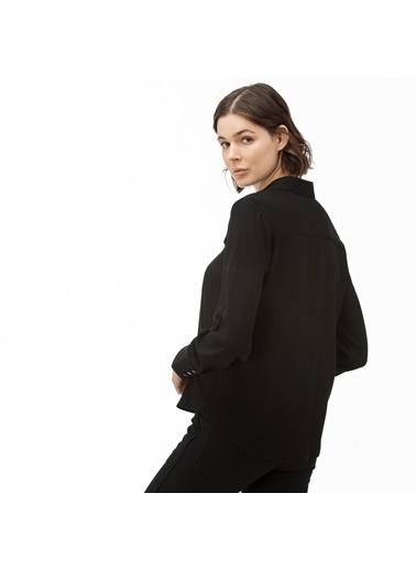 Lacoste Kadın  Gömlek CF0012.12S Siyah